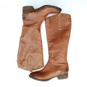 Sam Edelman Shoes - Sam Edelman Brown Leather Riding Boots